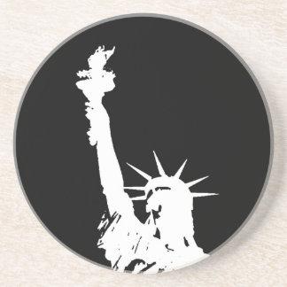 Statue of Liberty Silhouette Coaster