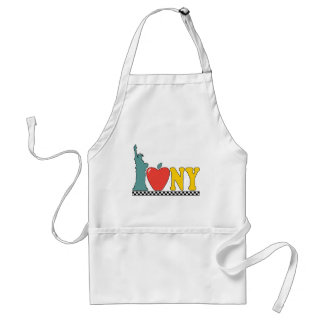 statue of liberty standard apron