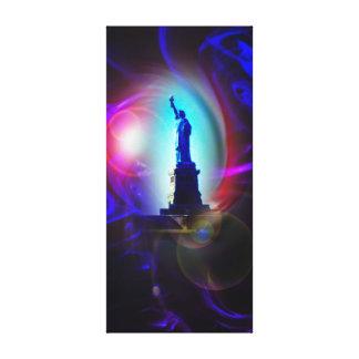 Statue of Liberty - statue OF Liberty Canvas Print