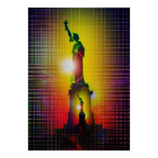 Statue of Liberty - statue OF Liberty Poster