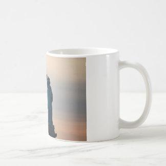 Statue of Liberty Sunset Coffee Mug