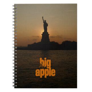 Statue of Liberty-Sunset Notebook