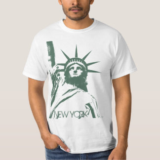 Statue of Liberty T-shirt New York Value T-shirt
