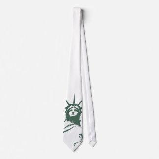 Statue of Liberty Tie NY City Souvenir Necktie