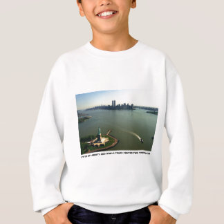 Statue of Liberty, Twin Towers May 2001 Sweatshirt