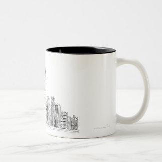 Statue of Liberty Two-Tone Coffee Mug
