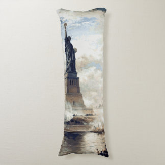 Statue of Liberty Unveiling 1886 Body Pillow