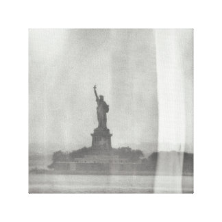 Statue of Liberty Wet Plate Look on Canvas