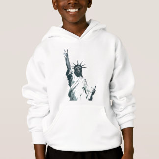 Statue of Liberty... with a twist of peace.