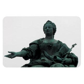 Statue Of Maria Theresia Rectangular Photo Magnet