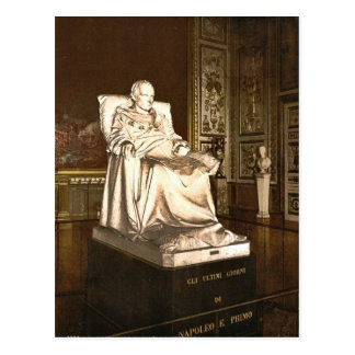 Statue of Napoloen I, dying, Versailles, France cl Postcard