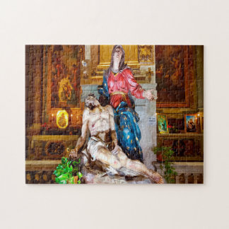 Statue of Our Lady . Jigsaw Puzzle