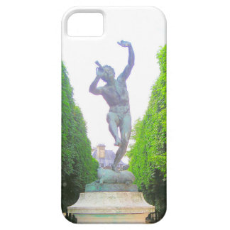 Statue of Pan, Luxembourg Garde, Paris France iPhone 5 Case