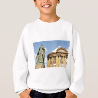 Statue of Queen Victoria in Birmingham, England Sweatshirt