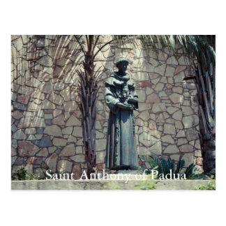 Statue of Saint Anthony of Padua Riverwalk Postcard