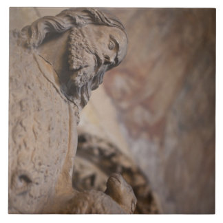 Statue of Saint John the Baptist Tile