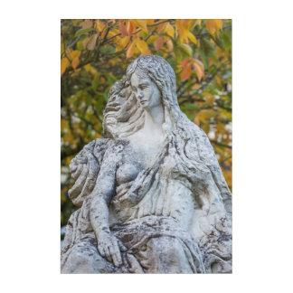 Statue Of The Loreley Mermaid Acrylic Print