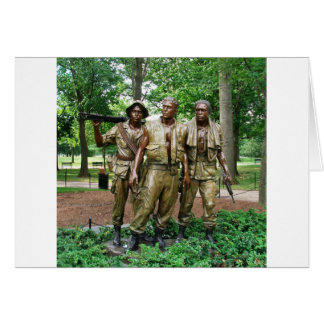 Statue of the Three Servicemen | Vietnam War Vets Card
