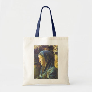 Statue of the Virgin Mary Tote Bag
