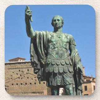 Statue of Trajan in Rome, Italy Coaster