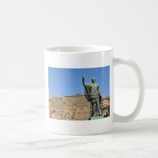 Statue of Trajan in Rome, Italy Coffee Mug