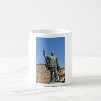 Statue of Trajan in Rome, Italy Coffee Mug