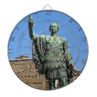 Statue of Trajan in Rome, Italy Dartboard