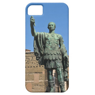 Statue of Trajan in Rome, Italy iPhone 5 Case