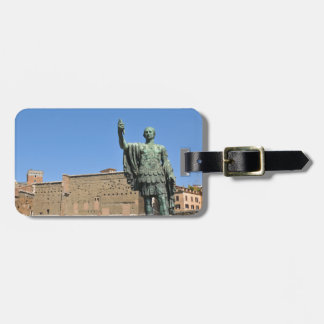 Statue of Trajan in Rome, Italy Luggage Tag