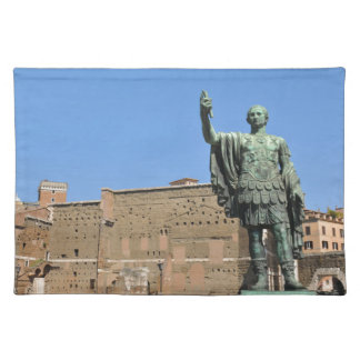 Statue of Trajan in Rome, Italy Placemat