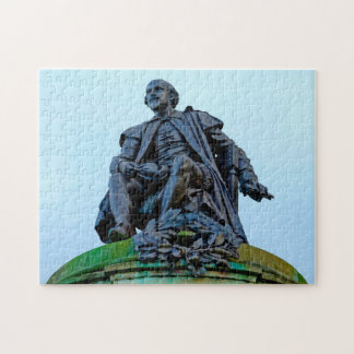 Statue of William Shakespeare Jigsaw Puzzle