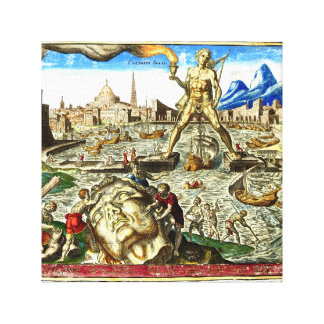 Statue of Zeus Canvas Print