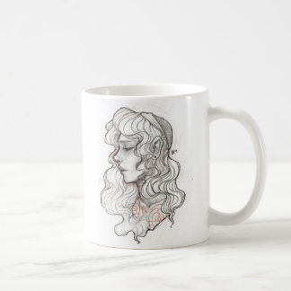 Statue Sketch Coffee Mug