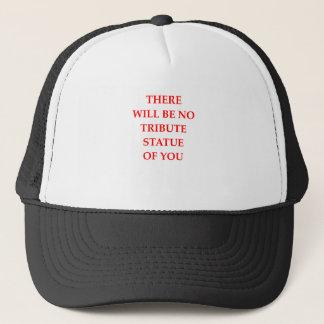 STATUE TRUCKER HAT