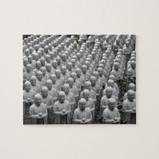 statues buddha rows jigsaw puzzle