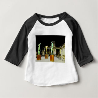 Statues in Pompeii Italy - Beautiful Discovery Baby T-Shirt