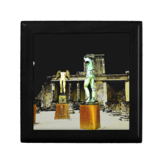 Statues in Pompeii Italy - Beautiful Discovery Gift Box