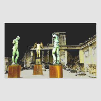 Statues in Pompeii Italy - Beautiful Discovery Sticker