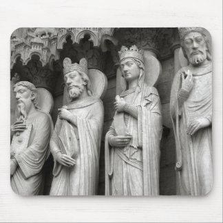 Statues Mousepad de Notre Dame Tapis De Souris