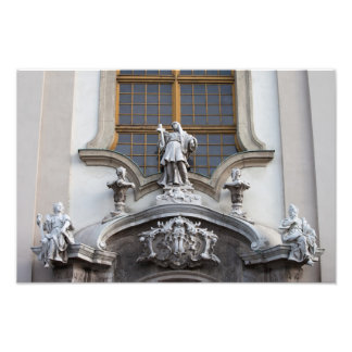 Statues of Faith, Hope and Love Photo Print
