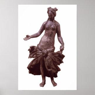 Statuette de Vénus, tard ?ère ou du 2ème siècle AN Poster
