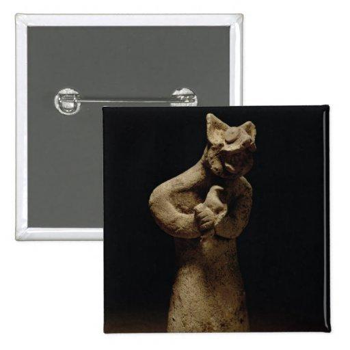 Statuette of a Lion-Headed Demon, Mesopotamia, c.5 Pins