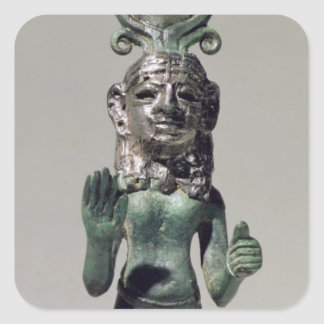 Statuette of a Phoenician goddess, from the Phoeni Square Sticker
