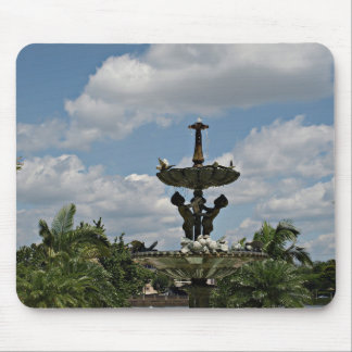 Statute in Hollis Gardens Mouse Pad