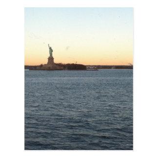 Statute of Liberty Love Postcard
