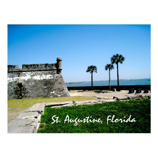 Staugustinefort, St. Augustine, Florida Postcard