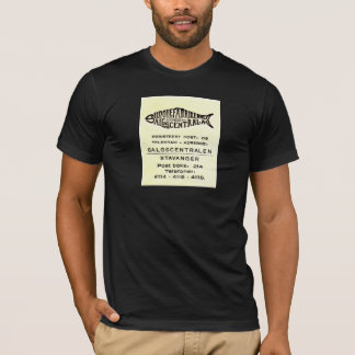 Stavanger Norway Sardine Oil Factory vintage shirt