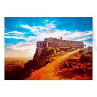 Stavrovouni Monastery Cyprus Card
