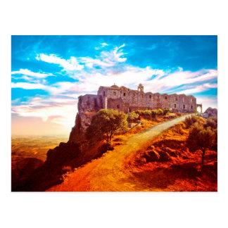 Stavrovouni Monastery Cyprus Postcard