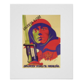 Stay alert! (1937)_Propaganda Poster